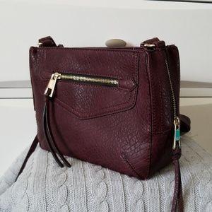 Handbags - NWT Bordeaux Crossbody Bag